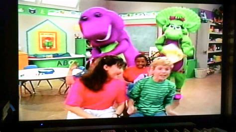 Go Barneys The Fall Barney Color by Opening To Barney S Colors And Shapes Australian Vhs 1997