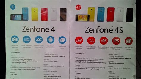 Hp Dan Spesifikasi Asus Zenfone 4s android mtk rom dengan software sp flash tool the knownledge