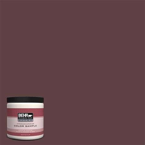 behr premium plus ultra 8 oz 250e 3 porcini interior exterior paint sle 250e 3u the