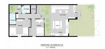 modern house with floor plan modern home floor plan
