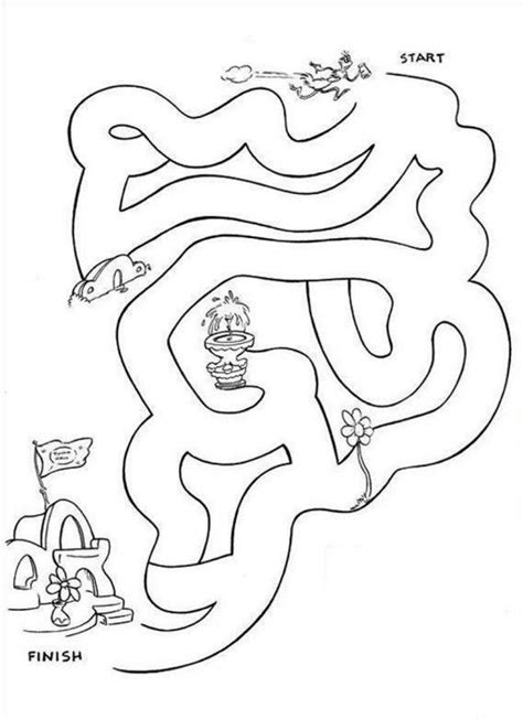 dr seuss printable coloring pages coloring home