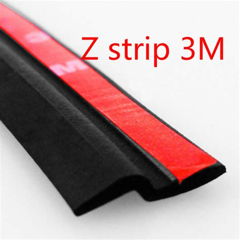 Car Door Weatherstripping by 3m Z Type Adhesive Car Rubber Seal Sound Insulation 3m