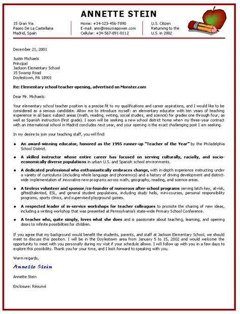 english teacher cover letter example okl mindsprout best solutions