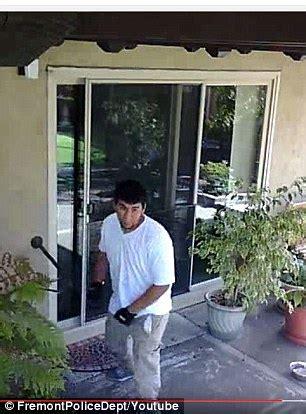 house broken dog california dog fed broken glass by house robber valdo diaz daily mail online