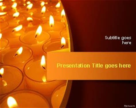 templates for diwali presentation free candle powerpoint templates free powerpoint templates