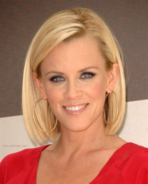 jenny mccarthy long angled bob hairstyle jenny mccarthy long bunt bob with the hair chopped an