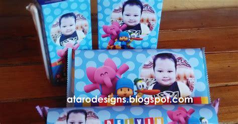 Tag Koper Tsum Tsum Luggage Tag Gantungan Nama Sa213 ataro designs undangan paperbag label ulang tahun tema pocoyo