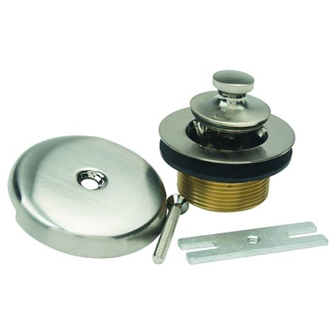 lift and turn sink drain snappytrap 1 1 2 in all in one drain kit for double bowl