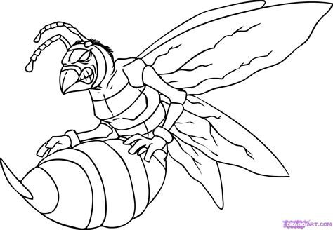 free a yellow jacket coloring pages