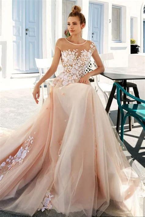 light wedding dress best 25 light pink wedding dress ideas on