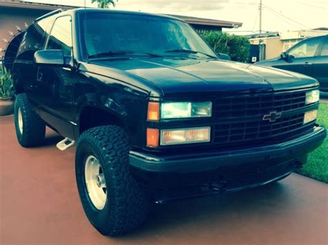 1993 chevy full size blazer tahoe yukon in mint conditions for sale in hialeah florida united 1993 chevy full size blazer tahoe yukon in mint conditions classic chevrolet blazer 1993 for sale