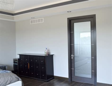 Frosted Glass Bedroom Door For Style Improve The Look Of Interior Bedroom Doors With Glass