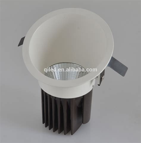 Fixed Ceiling Lights Slope Housing 12w Fixed Cob Led Ceiling Light Recessed Anti Glare Fixed Cob Led Light