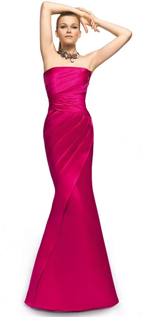 Longdress Annisa pink dress of honor dress