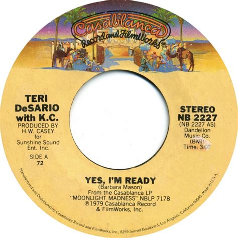 yes i m ready yes i m ready songbook
