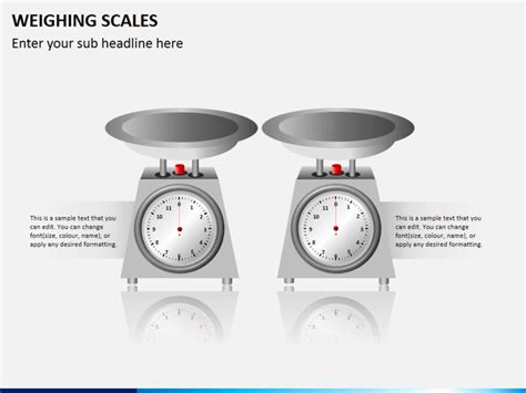 weighing scales powerpoint template sketchbubble