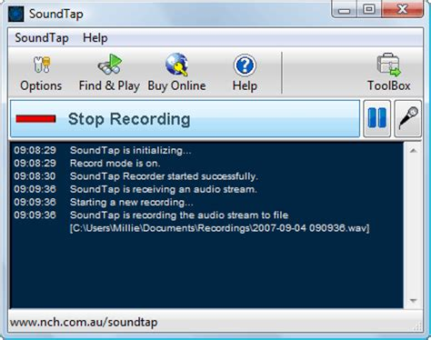 audio desk recording software soundtap audio recorder screenshots