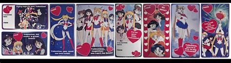 sailor moon valentines sailor moon cards by arashkya on deviantart