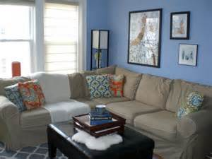 Blue And Brown Living Rooms 17 Pleasant Blue And Brown Living Room Designs