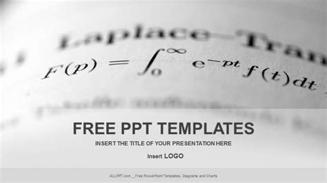 powerpoint themes math free long math education powerpoint templates