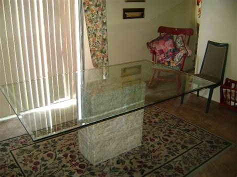 large glass dining room table top glass top