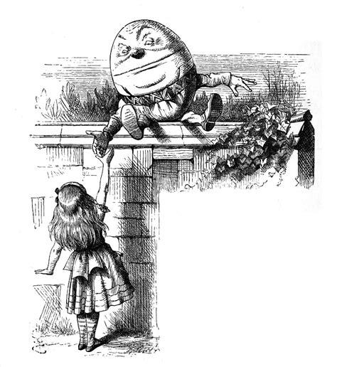 libro jabberwocky and other nonsense file humpty dumpty tenniel jpg wikimedia commons