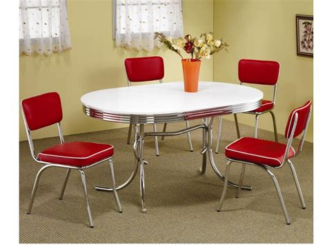 dining room sets cleveland ohio modern metal chrome dining room set table and chairs