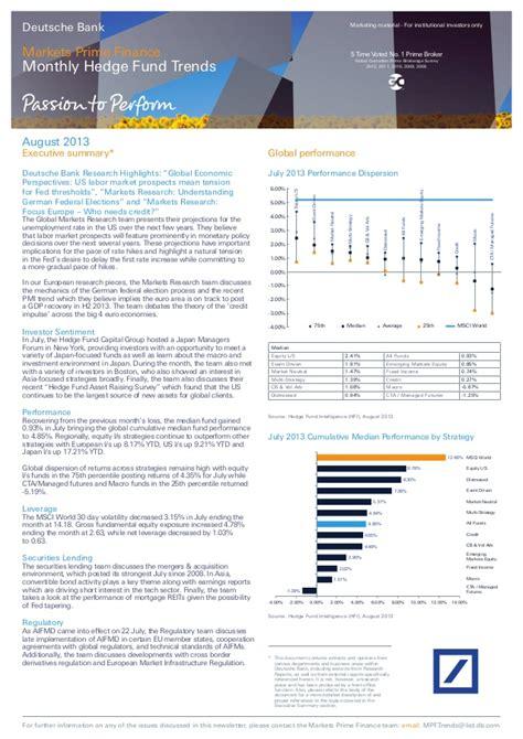 deutsche bank banking privat login deutsche bank markets prime finance monthly hedge fund