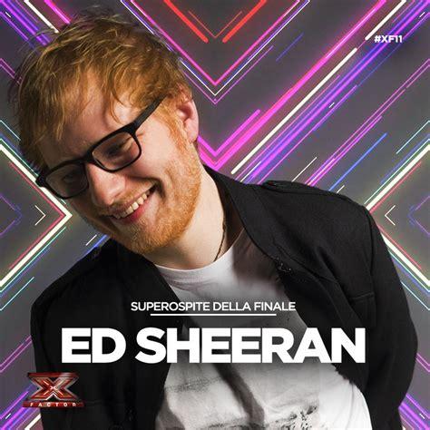 ed sheeran x factor video ed sheeran vola a x factor 11 con perfect e shape of
