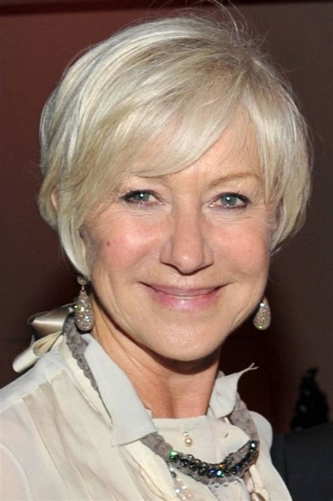 short hairstyles for seniors with grey hair senior hairstyles hairstyles