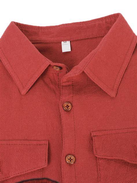 Hem Pocket Button o newe m 5xl casual solid button pocket asymmetric