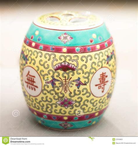 vaso cinese antico vaso cinese antico della spezia fotografia stock