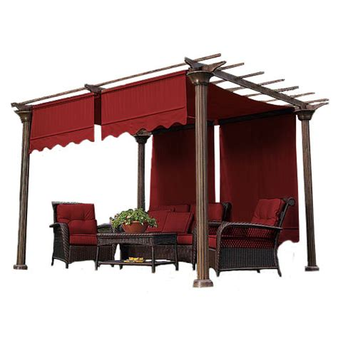 pergola canopy replacement universal designer replacement pergola shade canopy ii garden winds canada