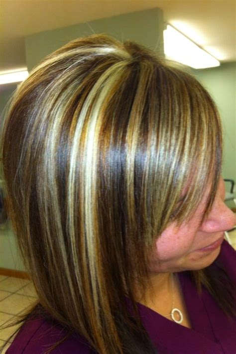 copper lowlights for short blonde hair copper lowlights for hair highlights and low lights
