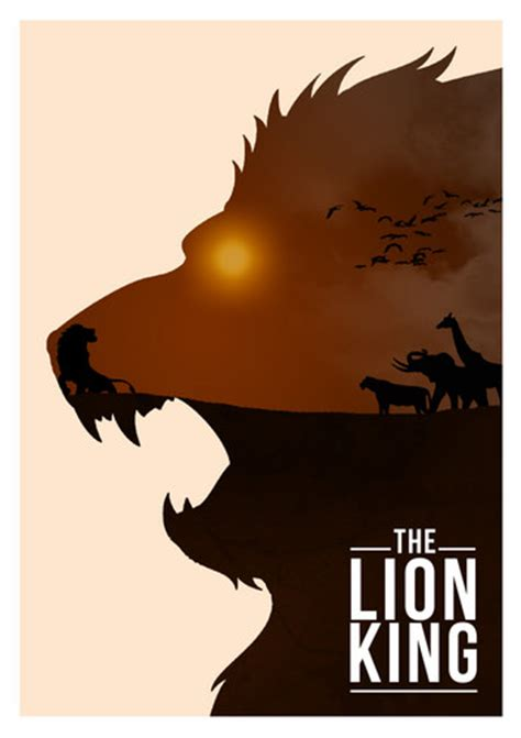 film with lion in the title disney images disney movie minimalist poster the lion