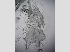 Madara Uchiha drawing by TheChiefAssassin by ... Madara Uchiha Susanoo Drawing