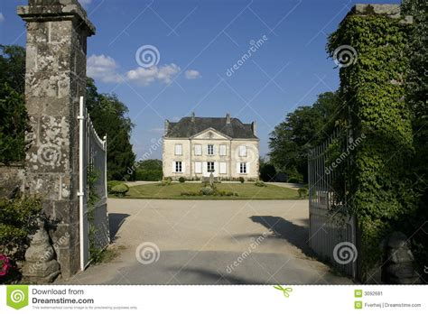 Small Mansion House Plans french country house stock image image 3092681