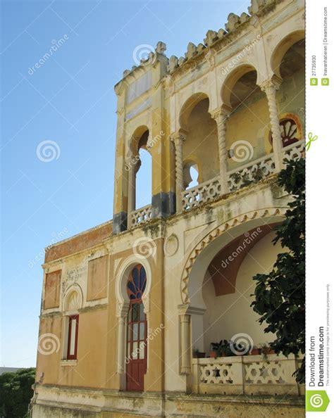 the moorish villa sticchi in the moorish villa sticchi in salento stock photo image