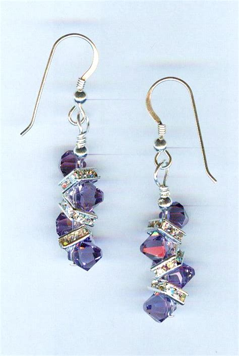 Handmade Beaded Earrings Designs - beaded earrings by bead wizardry designs