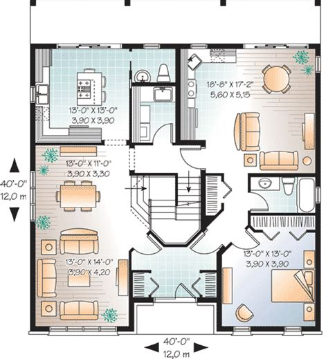 Multigenerational House Plans Multi Generational House Plan 21767dr 1st Floor Master Suite Cad Available Canadian In