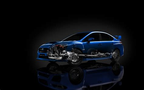 subaru engine wallpaper 2015 subaru wrx sti x ray uhd wallpaper wallpaperevo