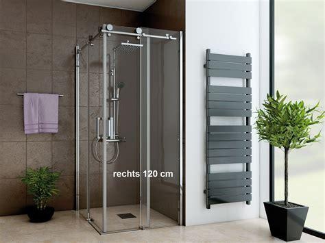 bad design heizung dusche eckeinstieg schiebet 252 r 120 x 80 x 220 cm