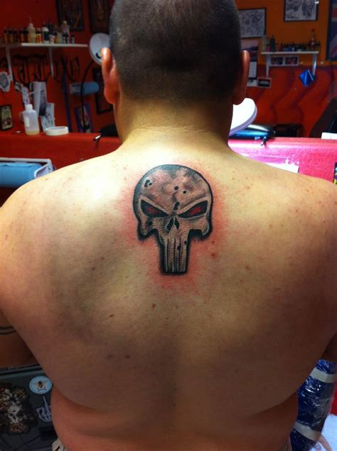 punisher tribal tattoo punisher my and punisher