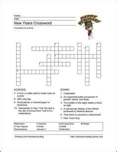 new year crossword puzzle worksheets worksheet new year crossword happy new year