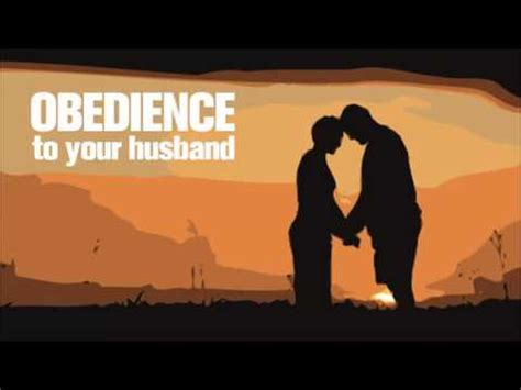 how to your to be obedient obedience to your husband