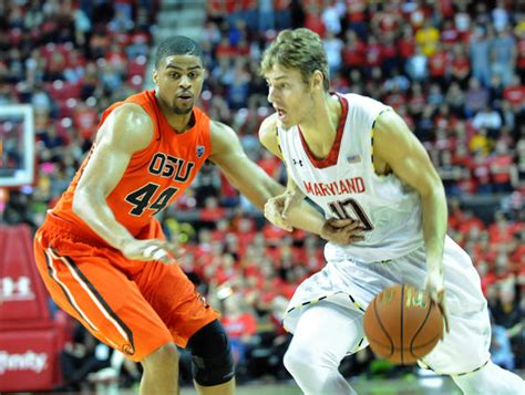 Jam Tangan Custom Maryland Terrapins with renewed confidence maryland terps jake layman shows new side at paradise jam chicago