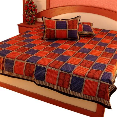 double bed sheets pure cotton double bed sheet home furnishing 302 online