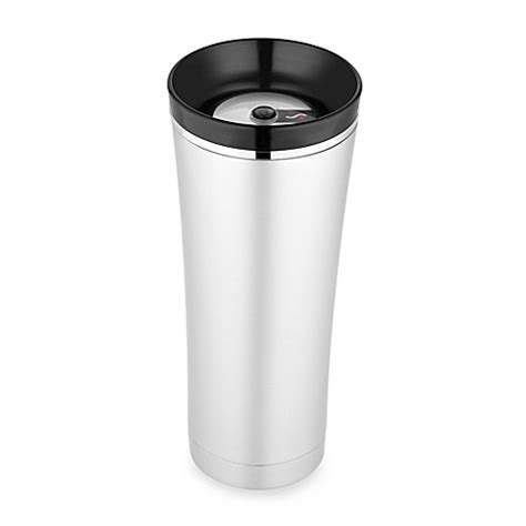 bed bath and beyond thermos buy thermos 174 sipp vacuum insulated tumbler in black from
