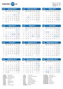 Finland Calendrier 2018 Kalender 2017