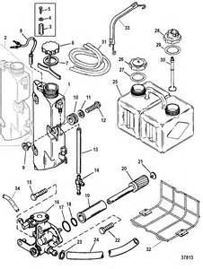 oil injection components for mariner mercury 225 250 efi